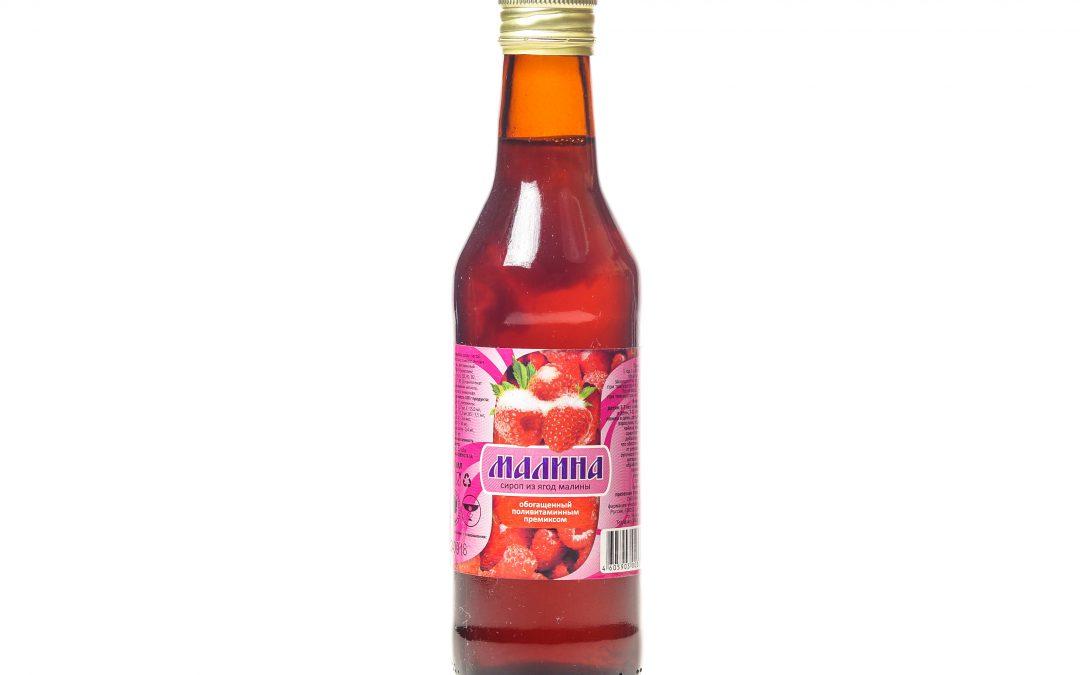 Сироп из ягод малины