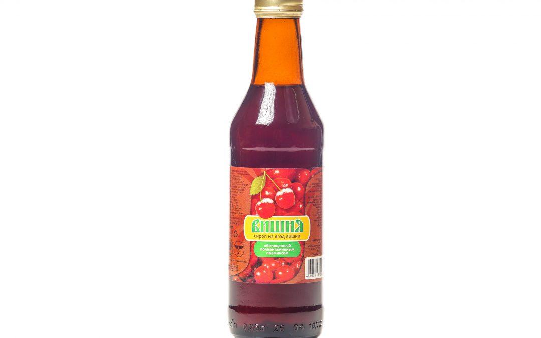 Сироп из ягод вишни